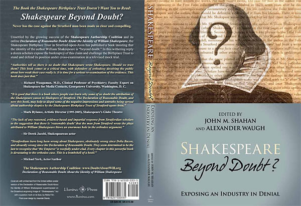 Shakespeare beyond doubt cover