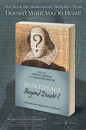 shakespeare authorship essays
